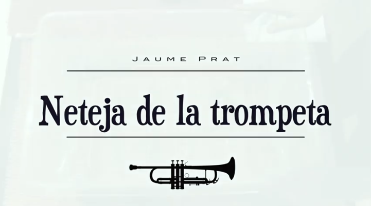 Com netejar la trompeta?