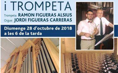 Concert orgue i trompeta a Terrassa