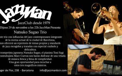 Natsuko Sugao Trio al Jazzman