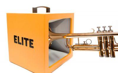 ELITE PRACTICE BOX és la solució definitiva per a assajar amb instruments de vent metall