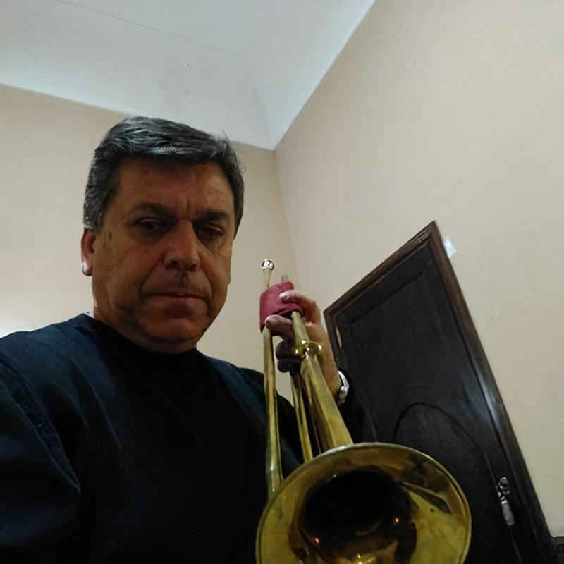 Rogelio Rodríguez - trompeta