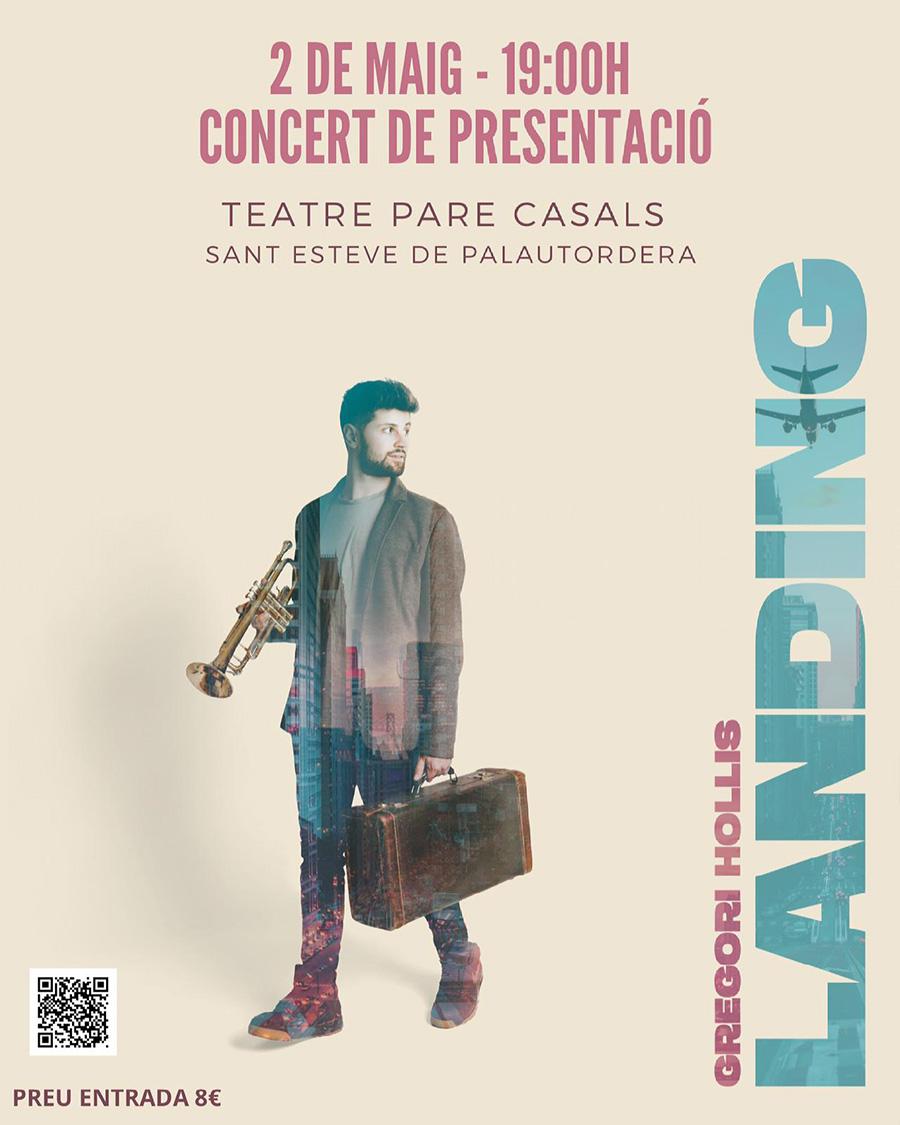 Gregori Hollis - Concert Presentació Landing